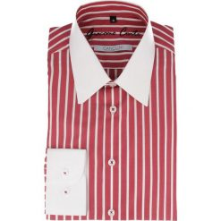 Koszula ARMANDO slim 14-08-39. Czerwone koszule męskie na spinki marki Cropp, l. Za 259,00 zł.