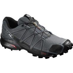 Buty sportowe męskie: Salomon Buty męskie Speedcross 4 Dark Cloud/Black/Pearl Grey r. 45 1/3 (392253)