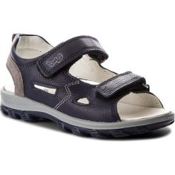 Sandały PRIMIGI - 1394422 S Blu. Niebieskie sandały chłopięce Primigi, ze skóry. W wyprzedaży za 199,00 zł.