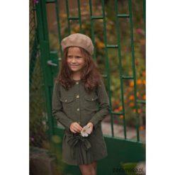 Sukienka Green Moss. Zielone sukienki dziewczęce z falbanami Pakamera, ze sztruksu. Za 179,00 zł.