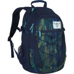 """Torebki i plecaki damskie: Plecak """"Herkules"""" w kolorze granatowo-zielonym – 33 x 50 x 18 cm"""