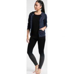 Bluzy rozpinane damskie: super.natural ESSENTIAL HOODY Bluza rozpinana navy blazer melange