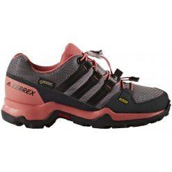 Adidas Buty Terrex Gtx K Trace Grey /Core Black/Tactile Pink 37.3. Czarne buciki niemowlęce chłopięce marki Adidas, z gore-texu. W wyprzedaży za 289,00 zł.
