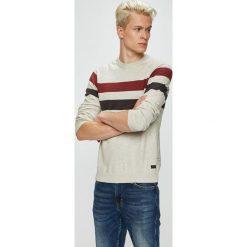 Produkt by Jack & Jones - Sweter. Szare swetry klasyczne męskie PRODUKT by Jack & Jones, m, z bawełny, z okrągłym kołnierzem. Za 119,90 zł.