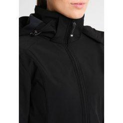 Icepeak LINNEA Kurtka Softshell black. Czarne kurtki sportowe damskie Icepeak, z elastanu. W wyprzedaży za 284,25 zł.