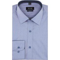 Koszula bexley 2611 długi rękaw slim fit niebieski. Niebieskie koszule męskie na spinki Recman, m, z długim rękawem. Za 139,00 zł.