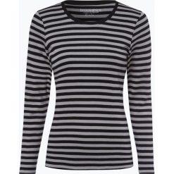 Brookshire - Damska koszulka z długim rękawem, szary. Czarne t-shirty damskie marki brookshire, m, w paski, z dżerseju. Za 89,95 zł.