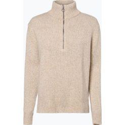 Marie Lund - Sweter damski, beżowy. Brązowe swetry klasyczne damskie Marie Lund, l, z wełny. Za 229,95 zł.