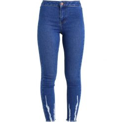 New Look Petite BRIGHT CRANBERRY DISCO  Jeans Skinny Fit blue. Niebieskie rurki damskie New Look Petite, petite. Za 149,00 zł.