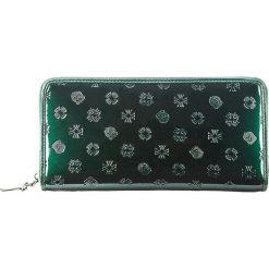 Portfel 34-1-482-0S. Czarne portfele damskie marki Mohito, z lakierowanej skóry. Za 499,00 zł.