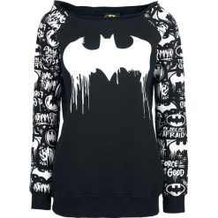 Bluzy damskie: Batman Graffiti Bluza damska czarny/biały