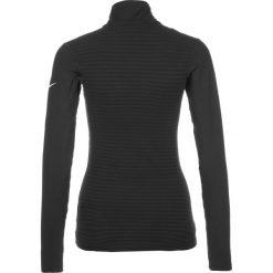 Nike Performance PRO WARM  Koszulka sportowa black/white. Czarne topy sportowe damskie marki Nike Performance, m, z elastanu, z długim rękawem. W wyprzedaży za 131,40 zł.