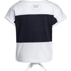 T-shirty damskie: Converse COLOURBLOCKED TIE FRONT Tshirt z nadrukiem white