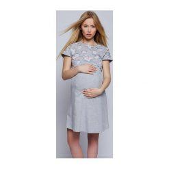Bluzki ciążowe: Koszula Fiona szara r. L