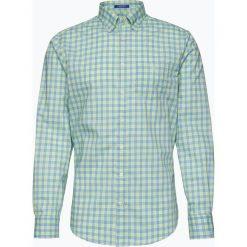 Koszule męskie na spinki: Gant – Koszula męska, zielony
