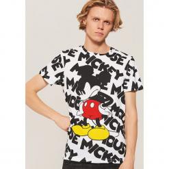 T-shirt Mickey Mouse - Wielobarwn. Szare t-shirty męskie House, l, z motywem z bajki. Za 59,99 zł.