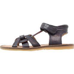 Sandały męskie skórzane: Bisgaard Sandały blue