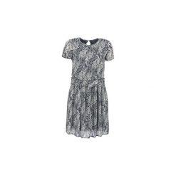 Sukienki krótkie Marc O'Polo  COPIRA. Niebieskie sukienki mini marki Marc O'Polo, polo, z krótkim rękawem. Za 583,20 zł.