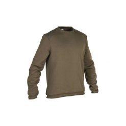 Sweter myśliwski 300. Brązowe swetry klasyczne męskie marki LIGNE VERNEY CARRON, m, z bawełny. Za 69,99 zł.