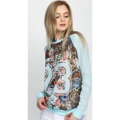 Bluzy damskie: Niebieska Bluza Count