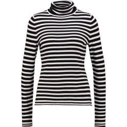 Swetry klasyczne damskie: comma Sweter black/white