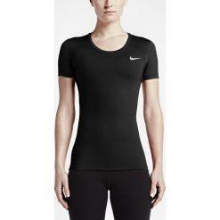 Koszulka Nike NP CL Short Sleeve (725745-010). Niebieskie bluzki z odkrytymi ramionami marki DOMYOS, xs, z bawełny. Za 54,99 zł.