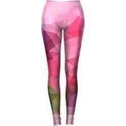 Legginsy: Legginsy w kolorze różowym