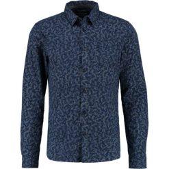 Koszule męskie na spinki: Teddy Smith CLANE  Koszula total navy