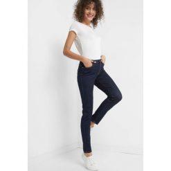 Jeansy skinny. Brązowe jeansy damskie marki Orsay, s, z dzianiny. Za 119,99 zł.