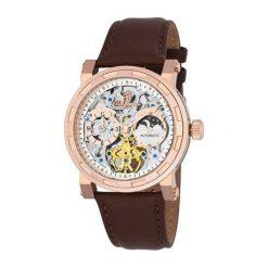 """Zegarki męskie: Zegarek """"Garden Grove"""" w kolorze brązowo-złoto-różowym"""