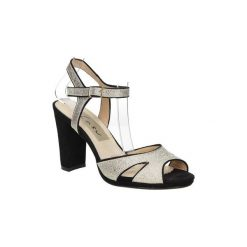 Rzymianki damskie: Sandały Casu  Sandały na słupku  LS27702P
