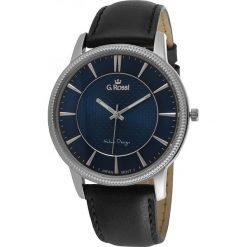 Zegarki męskie: Zegarek Gino Rossi męski Brenton czarny (10077A-6A1)