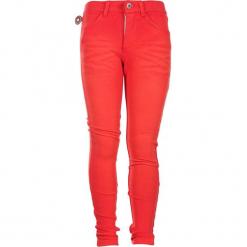 """Dżinsy """"Polly"""" w kolorze pomarańczowym. Brązowe jeansy dziewczęce 4FunkyFlavours Kids, ze skóry. W wyprzedaży za 122,95 zł."""