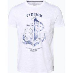 T-shirty męskie z nadrukiem: Tom Tailor Denim - T-shirt męski, czarny