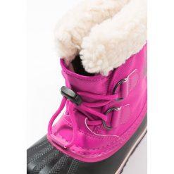 Sorel YOOT PAC Śniegowce haute pink. Czarne buty zimowe damskie marki Sorel, z materiału. W wyprzedaży za 223,30 zł.