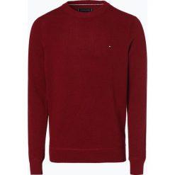 Tommy Hilfiger - Sweter męski, czerwony. Czarne swetry klasyczne męskie marki TOMMY HILFIGER, l, z dzianiny. Za 449,95 zł.