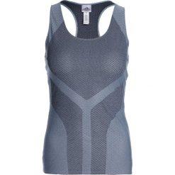 Adidas Performance TANK Koszulka sportowa legend ink/raw grey. Niebieskie t-shirty damskie adidas Performance, xs, z poliesteru. Za 169,00 zł.