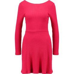 Sukienki hiszpanki: Topshop Sukienka z dżerseju raspberry