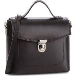 Torebka CREOLE - K10477  Czarny. Czarne torebki klasyczne damskie Creole, ze skóry. W wyprzedaży za 159,00 zł.
