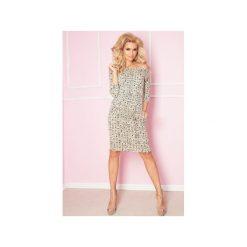Sukienki: SUKIENKA SPORTOWA CASUAL NUDE ZNAKI