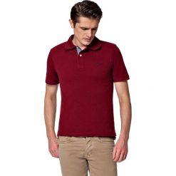 Koszulka Bordowa Polo Jack. Czerwone koszulki polo marki LANCERTO, m, z bawełny, z krótkim rękawem. W wyprzedaży za 69,90 zł.
