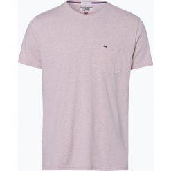 Tommy Jeans - T-shirt męski, różowy. Czerwone t-shirty męskie marki Tommy Jeans, m, z dżerseju. Za 129,95 zł.