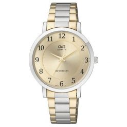 Zegarki damskie: Zegarek Q&Q Damski Q944-404 Klasyczny srebrny