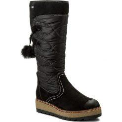 Buty zimowe damskie: Śniegowce TAMARIS – 1-26621-39 Black Comb 098