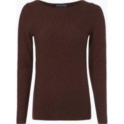Franco Callegari - Sweter damski, brązowy. Zielone swetry klasyczne damskie marki Franco Callegari, z napisami. Za 179,95 zł.