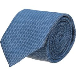 Krawaty męskie: krawat platinum granatowy classic 200