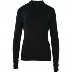 Czarny Sweter Rashness. Czarne swetry klasyczne damskie Born2be, na jesień, l. Za 59,99 zł.