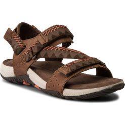 Sandały męskie skórzane: Sandały MERRELL – Terrant Convert J93913 Brown Sugar