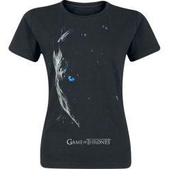 T-shirty damskie: Gra o Tron Season 7 Poster – Nachtkönig Koszulka damska czarny