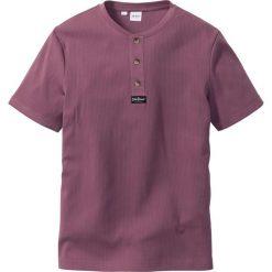 T-shirt Regular Fit bonprix matowy jeżynowy. Fioletowe t-shirty męskie marki Reserved, l, z bawełny. Za 44,99 zł.